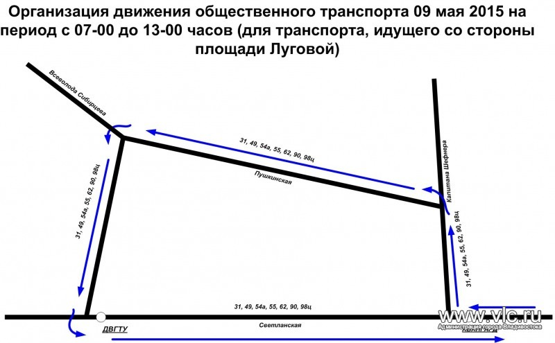 маршруты (СХЕМА)